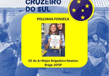 Parabéns a lobinha Pollyana Fonseca dos Santos