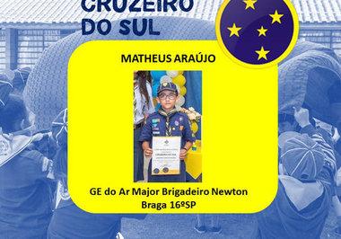 Parabéns ao lobinho Matheus Munhoz