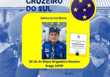 Parabéns ao lobinho Matheus Moreno