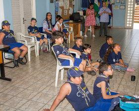 16/SP Grupo Escoteiro do Ar Newton Braga - Dia 31/08/2019