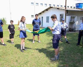 16/SP Grupo Escoteiro do Ar Newton Braga - Dia 14/09/2019