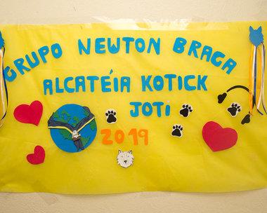 16/SP Grupo Escoteiro do Ar Newton Braga - Dia 19/10/2019 Jota Joti